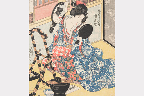 "Four Seasons: Winter""Gototei Kunisada(1818-30)"