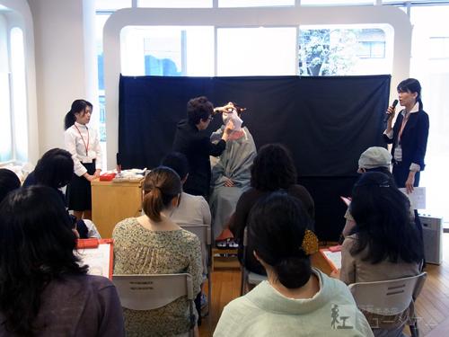 第11回 江戸の化粧再現講座を開催しました