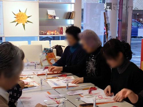 「折形~江戸の優美なこころ・祝いの包み~」講座を開催しました