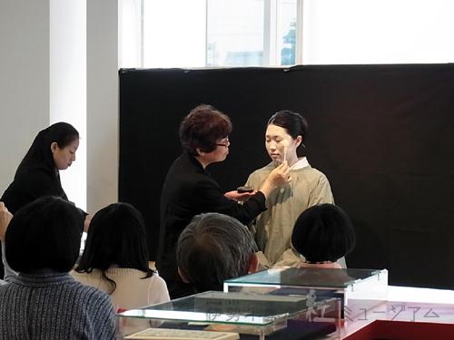 第13回 江戸の化粧再現講座を開催しました