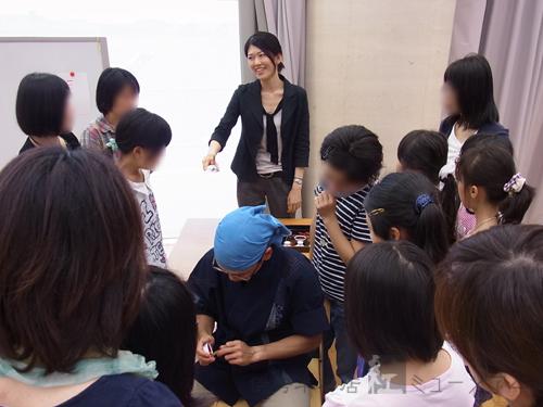 島根県立美術館にて出張講座を開催