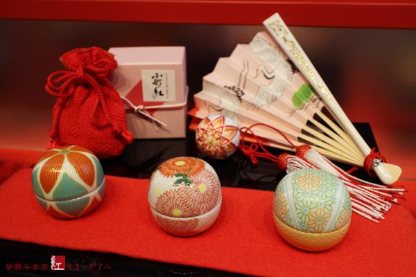小町紅『手毬』 秋の限定柄3種を販売します