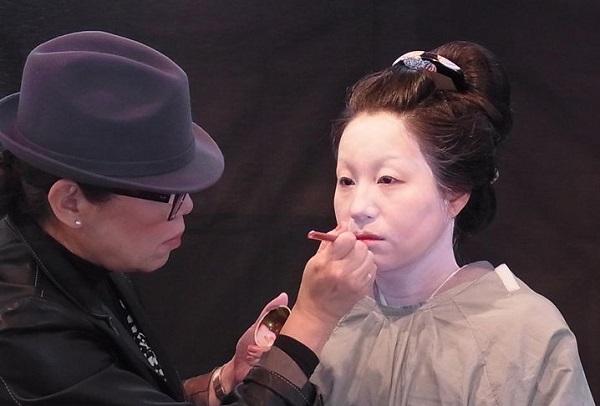 2/21(土)「江戸の化粧再現講座-白粉化粧・比較編-」を開催しました。