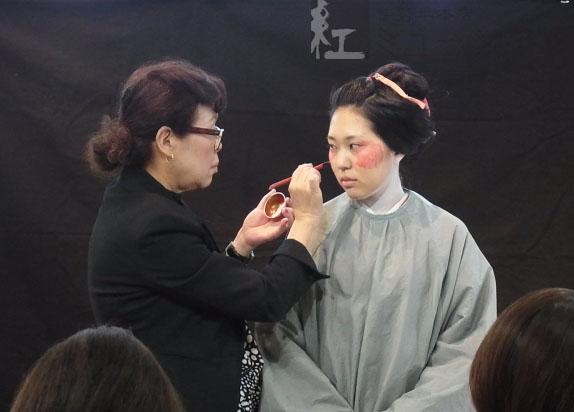 10/24(土)「江戸の化粧再現講座」~秋の外出時の化粧編~を開催しました
