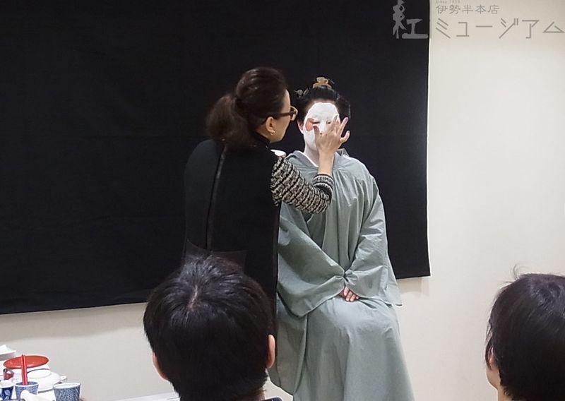 2/6(土)「江戸の化粧再現講座」~白粉化粧・比較編~を開催しました