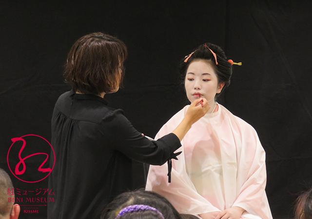 1月25日「江戸の化粧再現講座」~半元服のお化粧~を開催しました