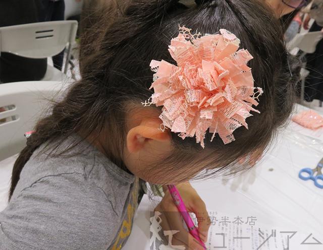 6月16日 赤坂青山子ども中高生共育事業「親子でチャレンジ! 紅染め&コサージュ作り体験」