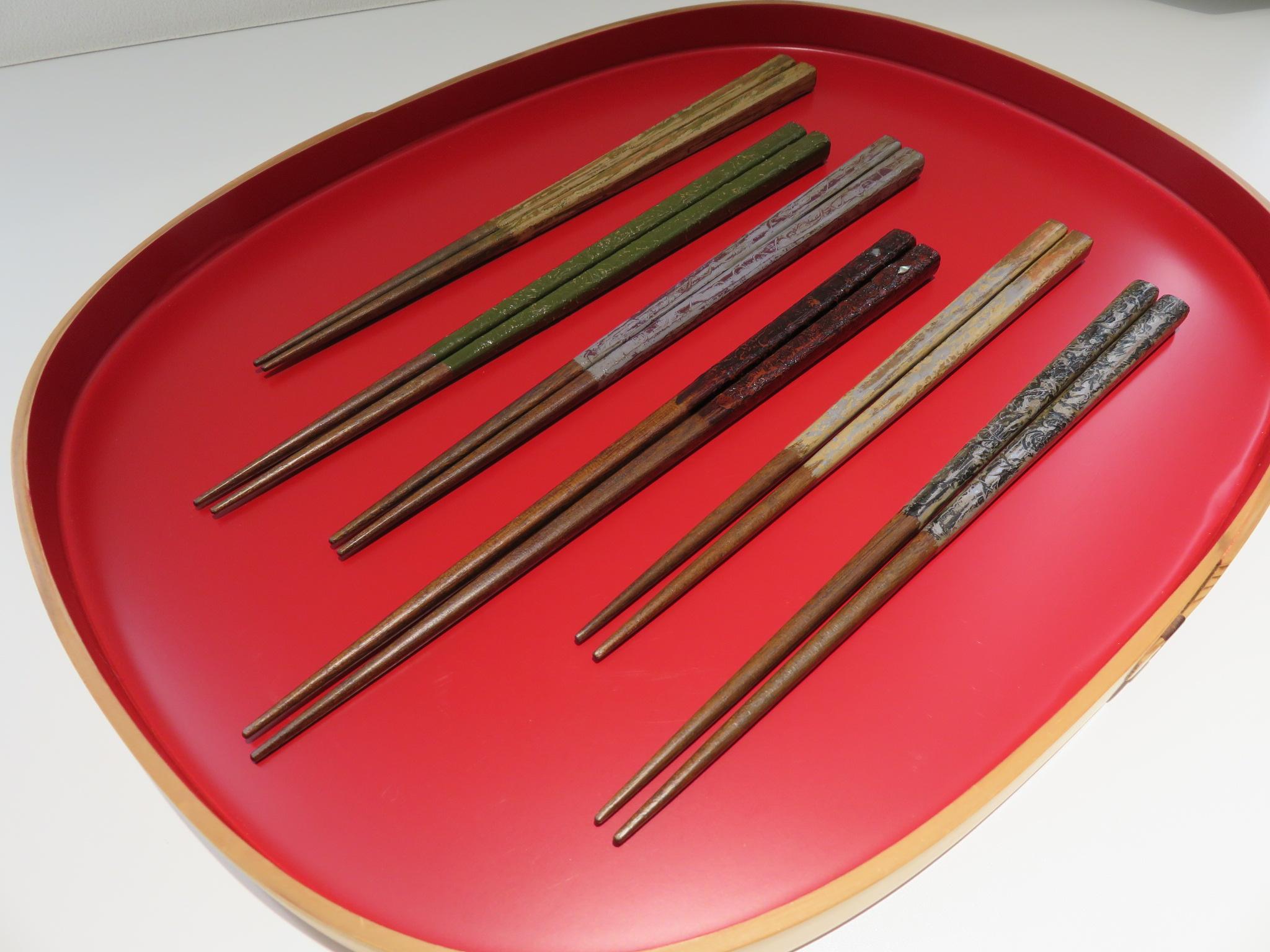 12月20日「塗る、研ぐ―漆箸制作入門」③を開催しました